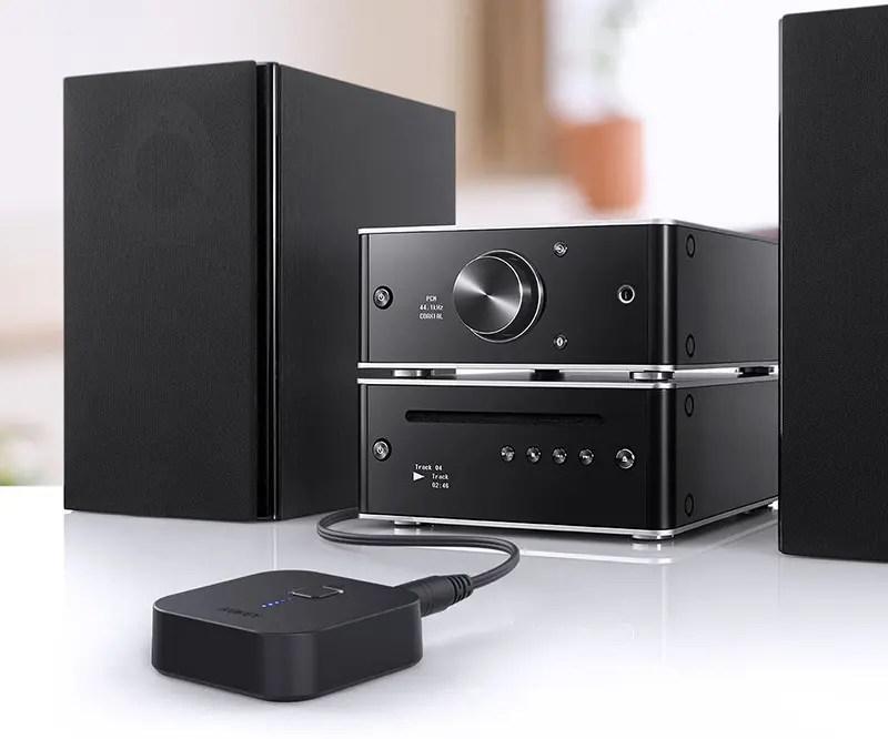 AUKEY Bluetooth 4.1 Receptor Adaptador de audio inalámbrico