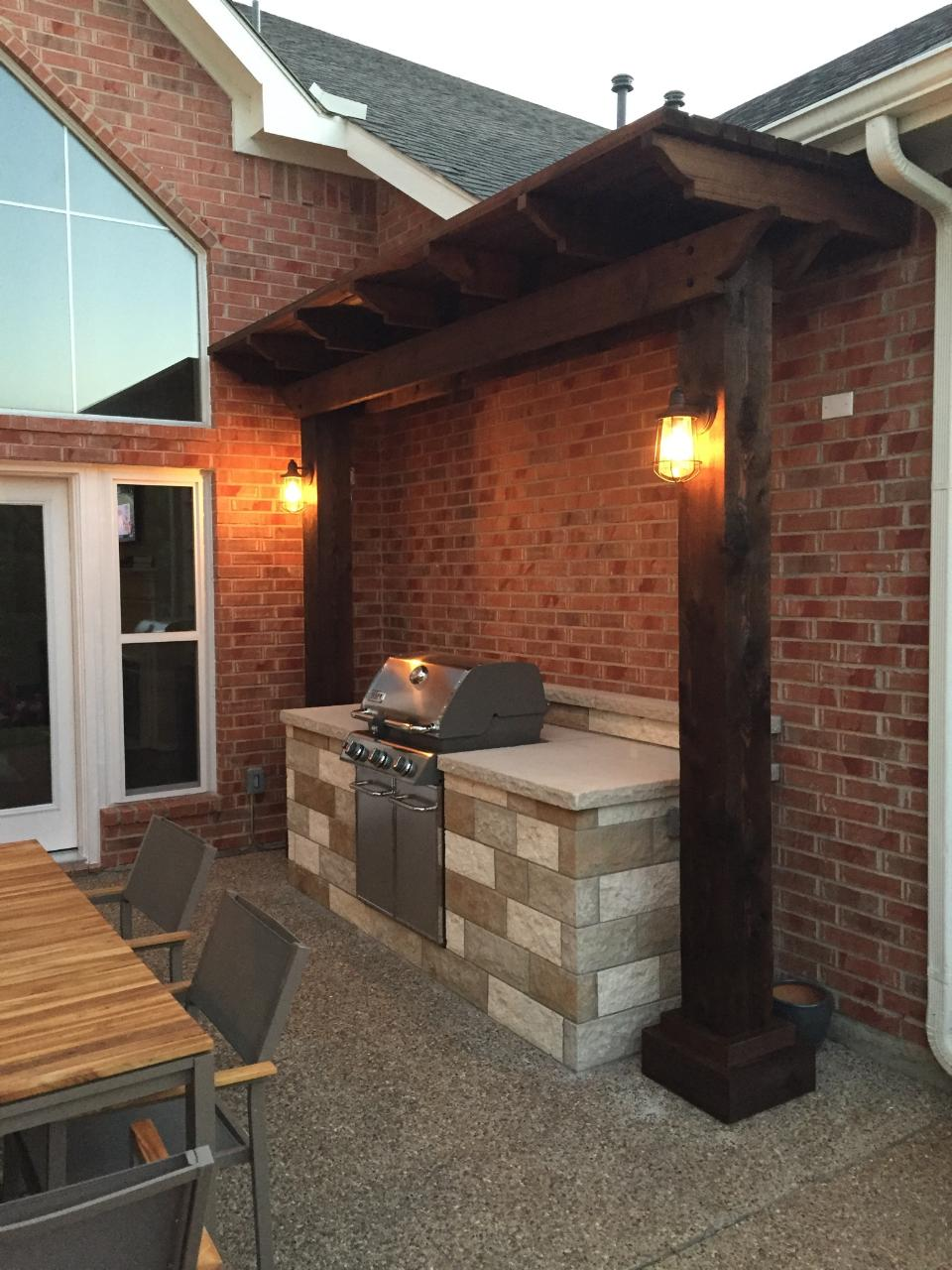 Texas Best Stain Fence Company Outdoor Living