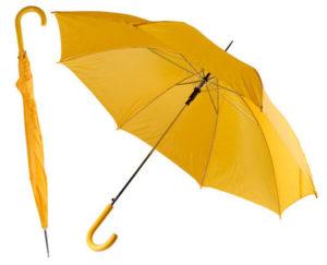 Guarda-chuva de poliéster.