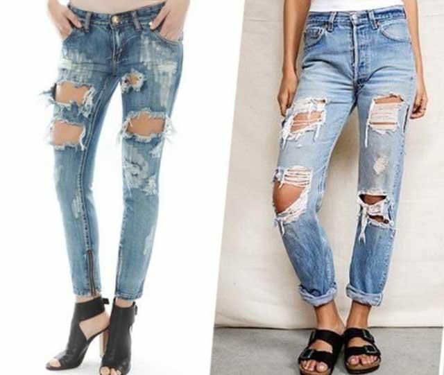Hur man gör rippade jeans