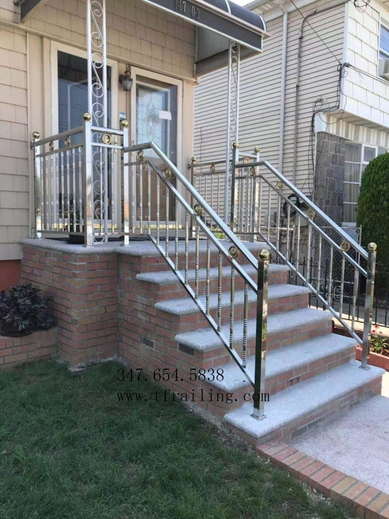 Stainless Steel Railing – New Tengfei   Stainless Steel Handrails Near Me   Glass Railing Systems   Staircase Railing   Stair Railing   Metal   Relaxdays Stainless