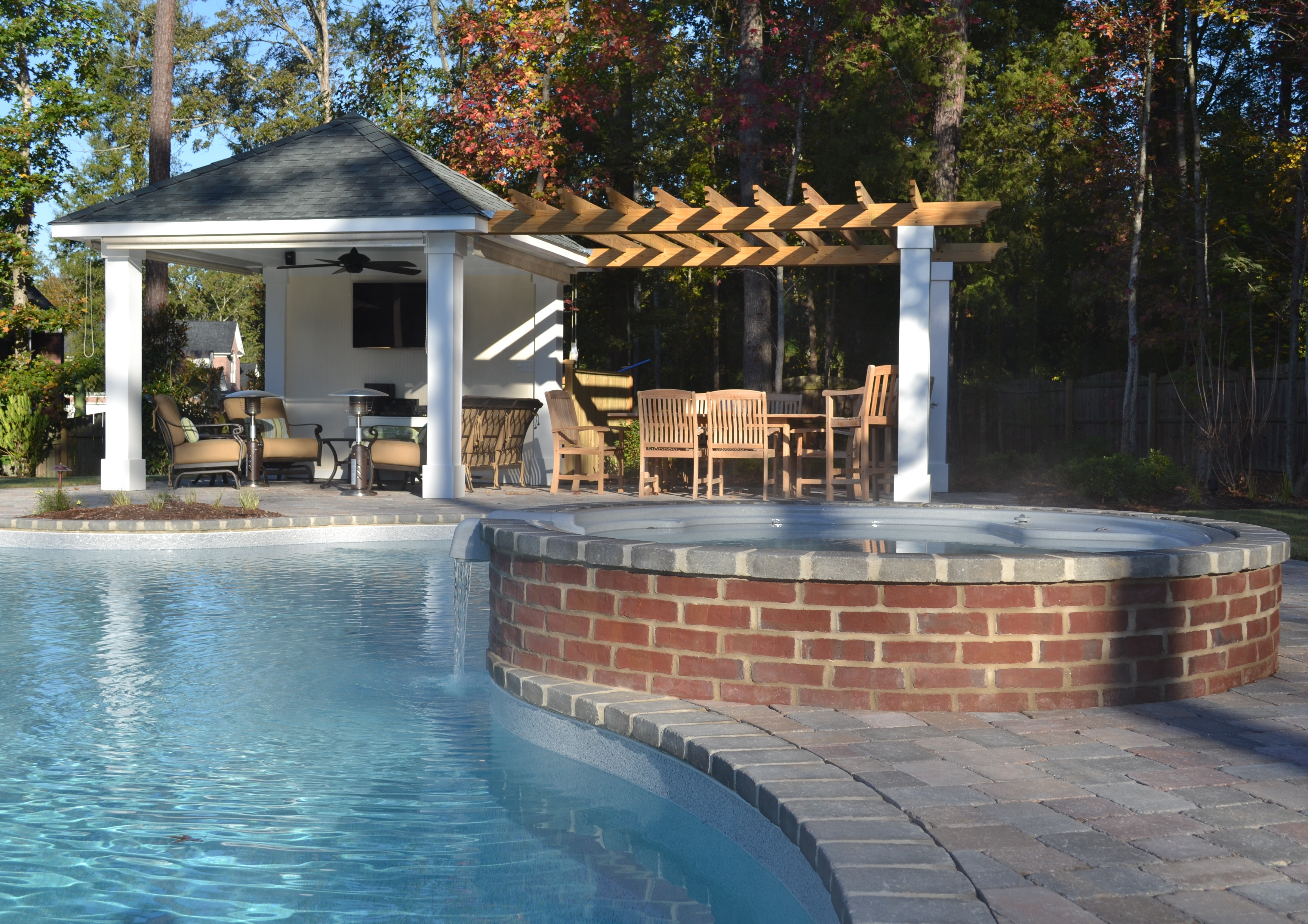 Creating The Outdoor Living Space Tg Amp R Landscape Group