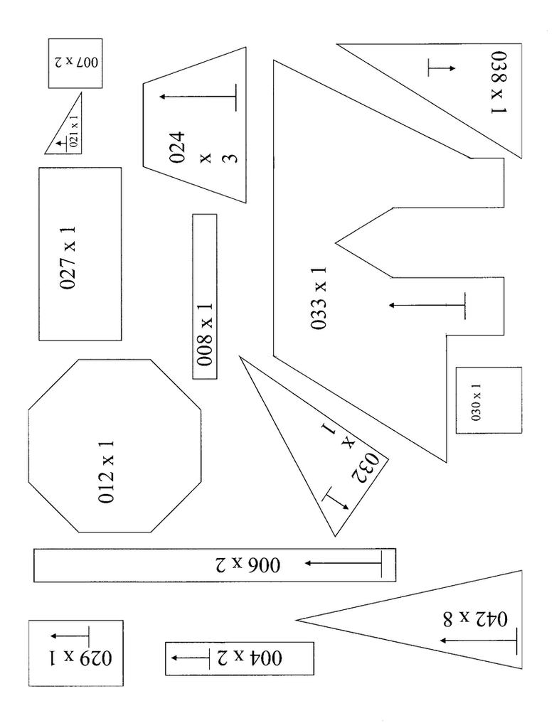 Book Templates For Putz Houses