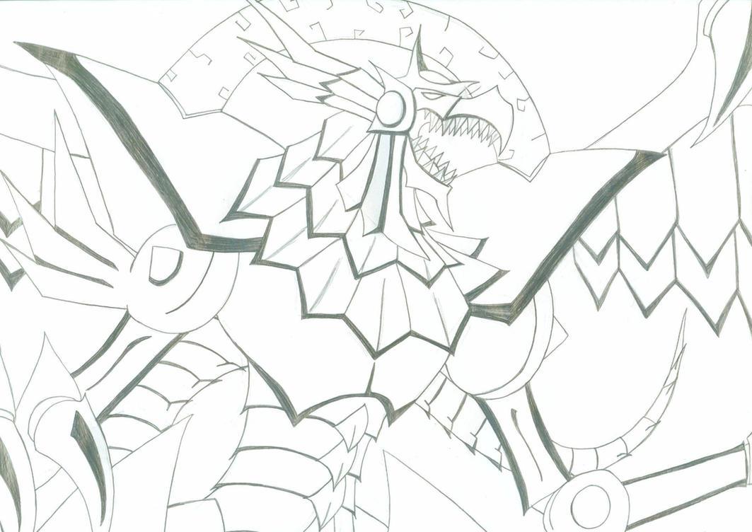 Winged Dragon Ra Wallpaper