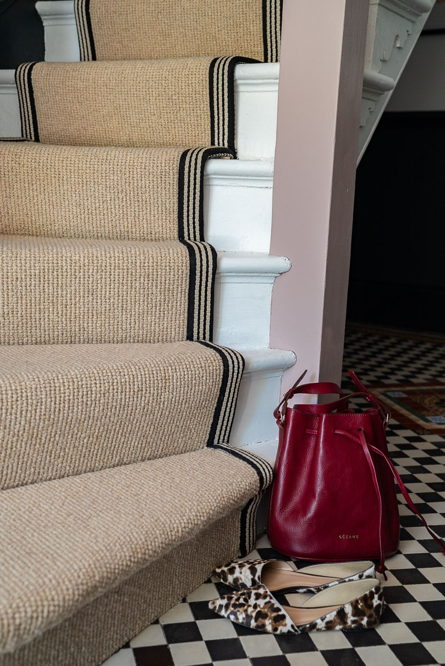 How To Achieve Your Perfect Stair Runner The Frugality   Average Price For Hall Stairs And Landing Carpet   Stair Treads   Hardwood Flooring   Stair Case   Stair Railing   Steps