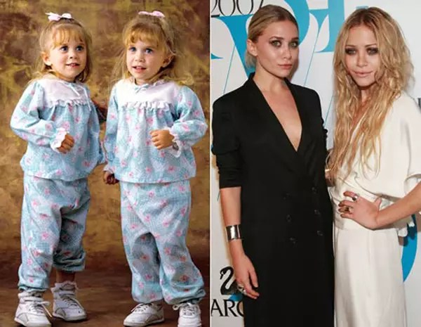 Full House Cast  Then and Now   Page 2   The Hollywood Gossip 7  Mary Kate and Ashley Olsen