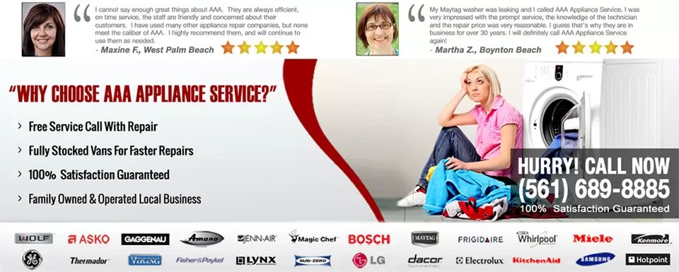 AAA Appliance Repair West Palm Beach - Used Appliance Parts & Service
