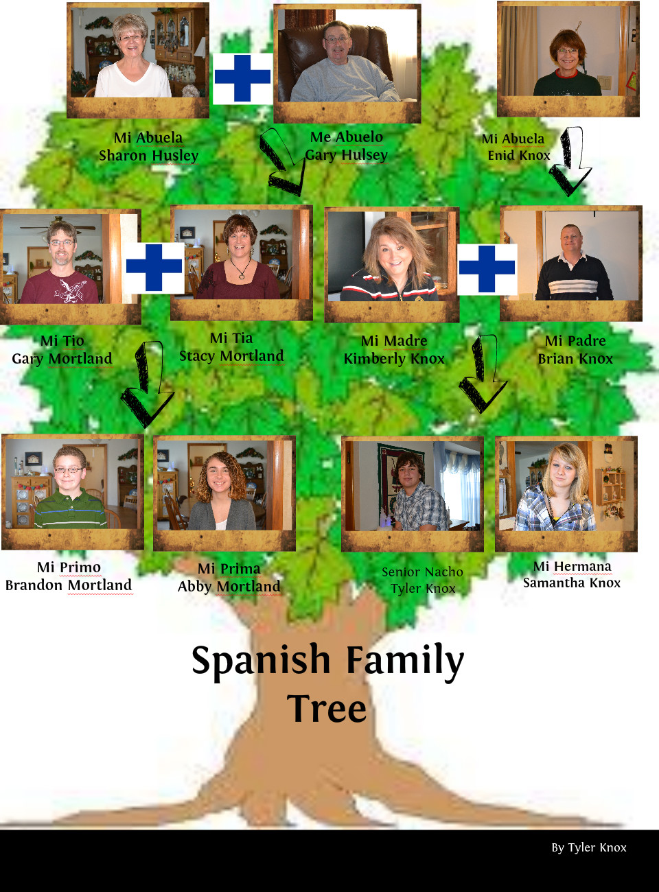 family trees in spanish - HD 960×1300