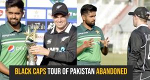 Black Caps tour of Pakistan abandoned
