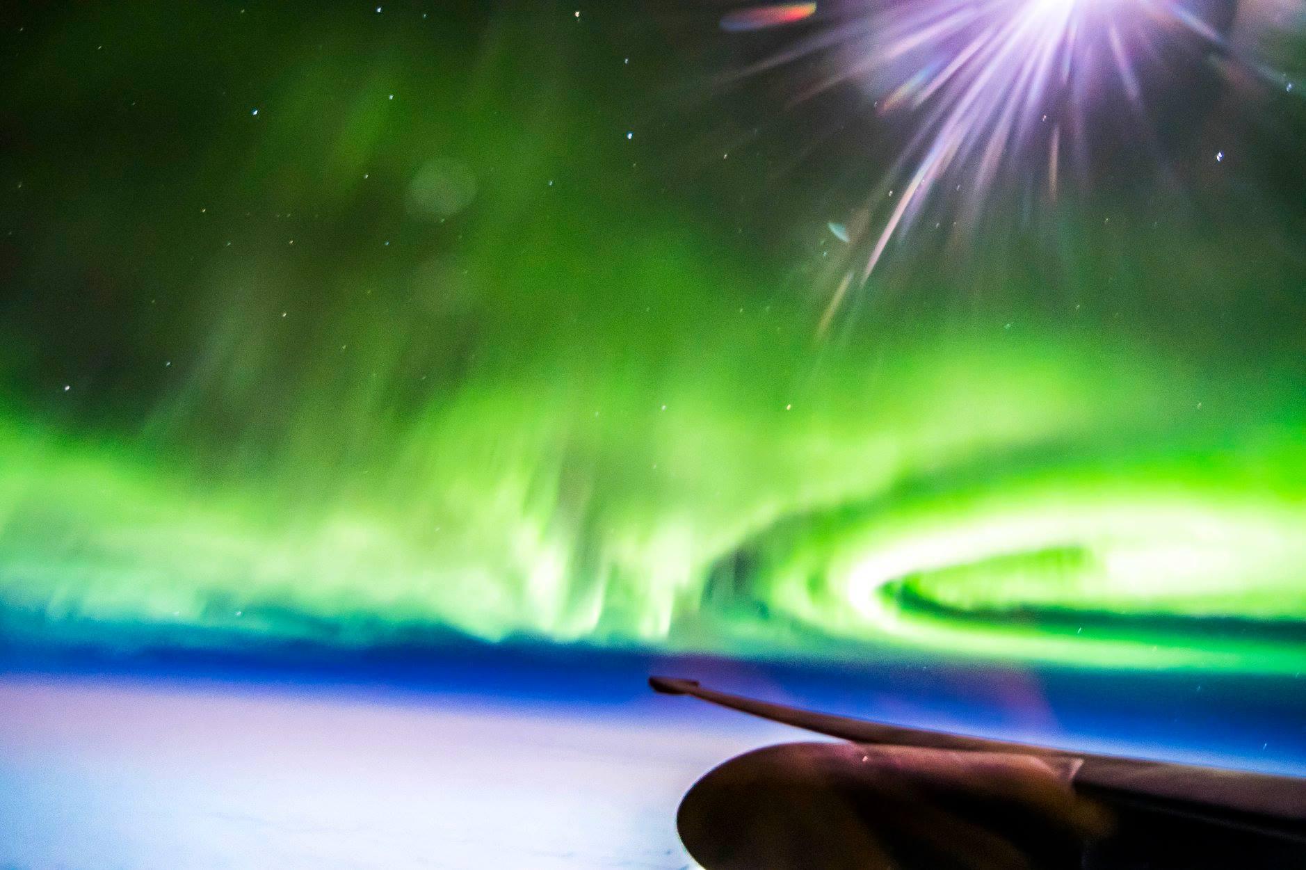Flight See Northern Lights