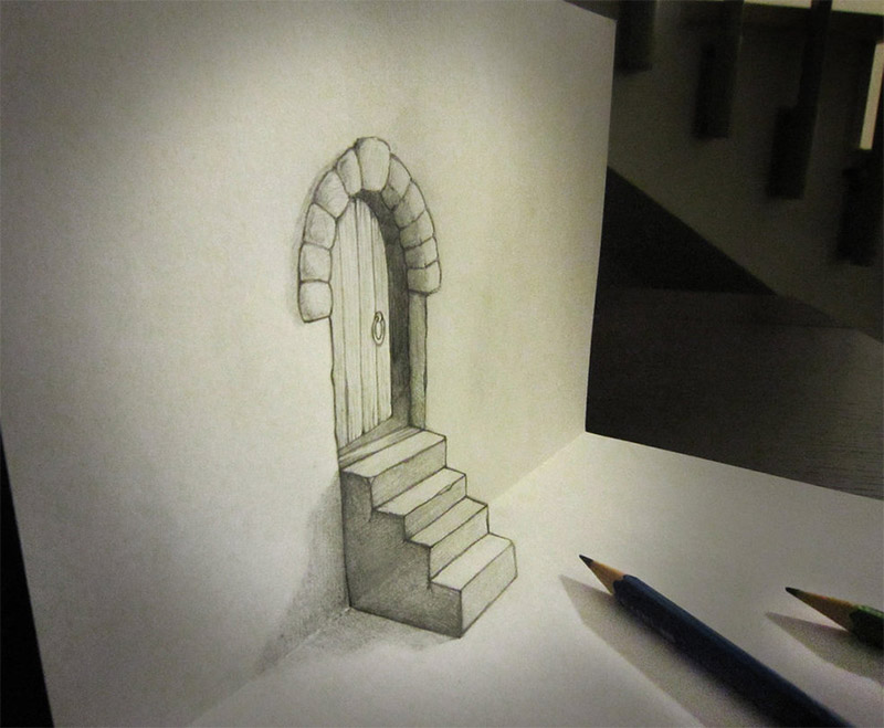 Spider 3d Drawing
