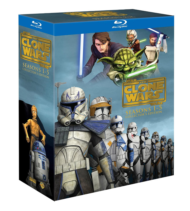 1 Set Wars Box Clone Star Wars 5 Seasons