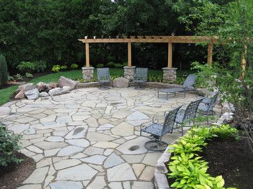 15 Fantastic Flagstone Patio Design Ideas
