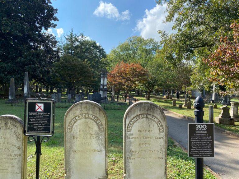 9 historic graves in Maple Hill, largest cemetery in Alabama + [BONUS] 2 famous Huntsville burials