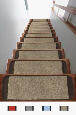 The 10 Best Stair Carpet In 2020 Reviews » The Best A Z   Soloom Carpet Stair Treads   Blended Jacquard   Amazon   Beige   Mat   Flooring