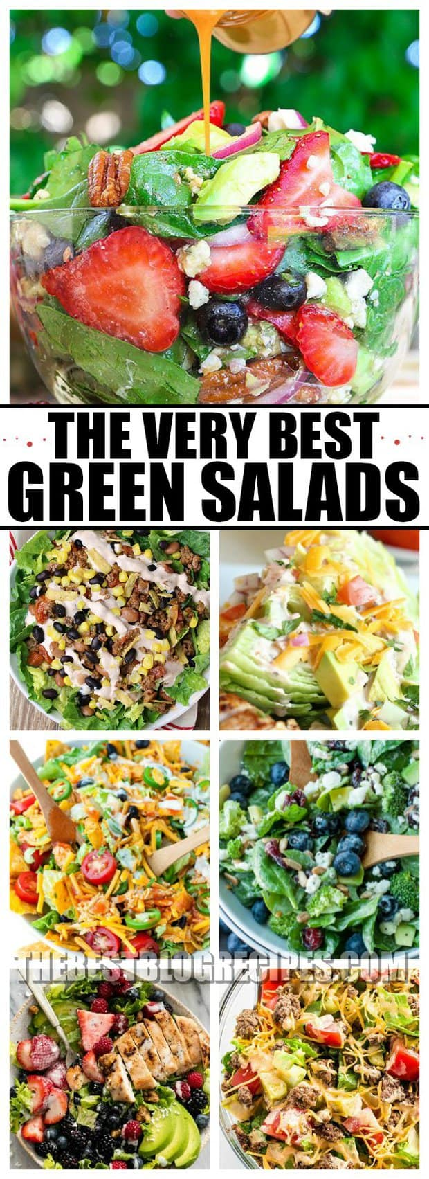 THE VERY BEST GREEN SALADS