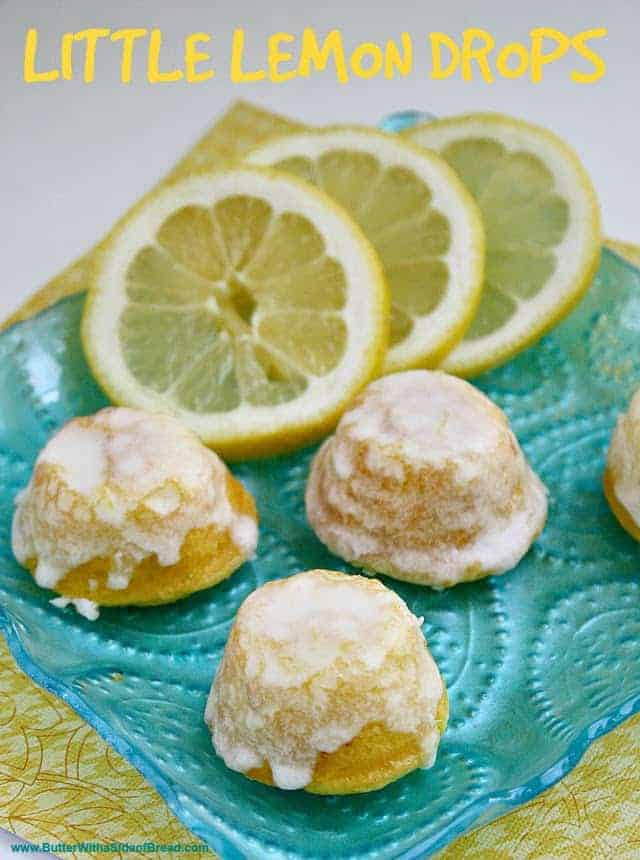 Little Lemon Drops are delicious bite-sized treats that start with a cake mix – they are the perfect treat to take to your next party!