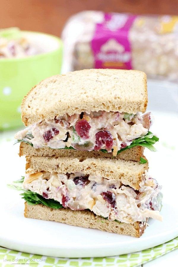 Lighter Chicken Salad Sandwiches
