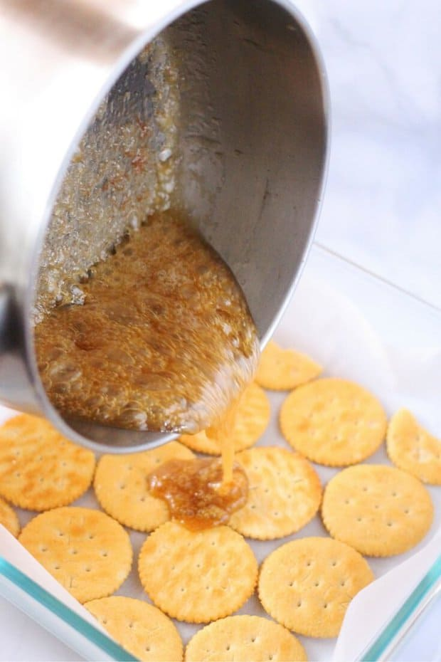 Ritz Cracker Toffee