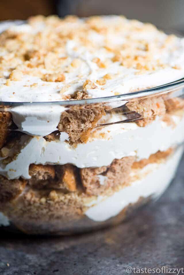 CREAM CHEESE CARROT CAKE TRIFLE