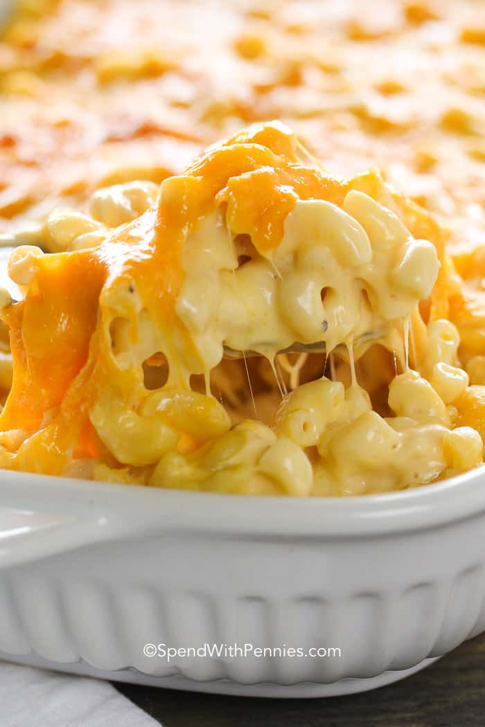 Homemade Mac and Cheese is a rich, creamy casserole that is truly a show stopper!