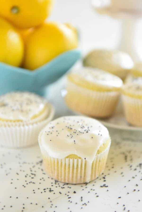 You just need one bowl to make these bright and zesty muffins that are bursting with flavor and topped with a sweet lemon glaze!