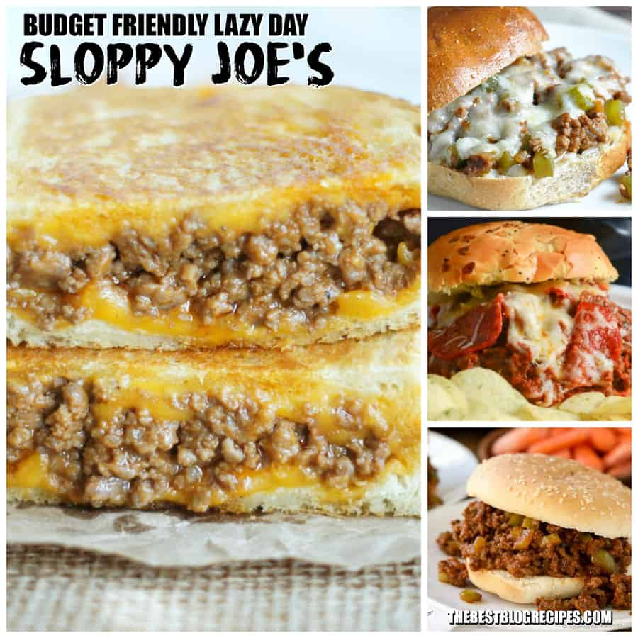 Budget Friendly Lazy Day Sloppy Joe's