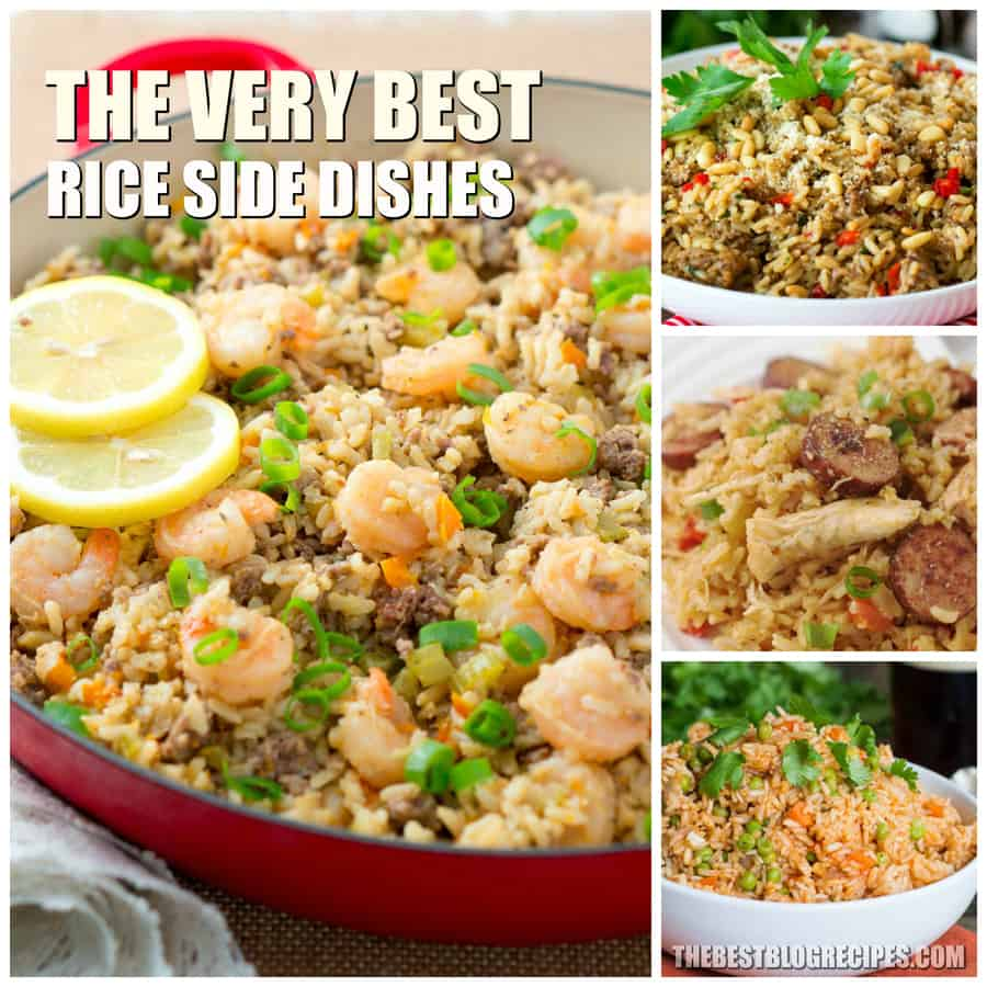 The Best Rice Side Dishes