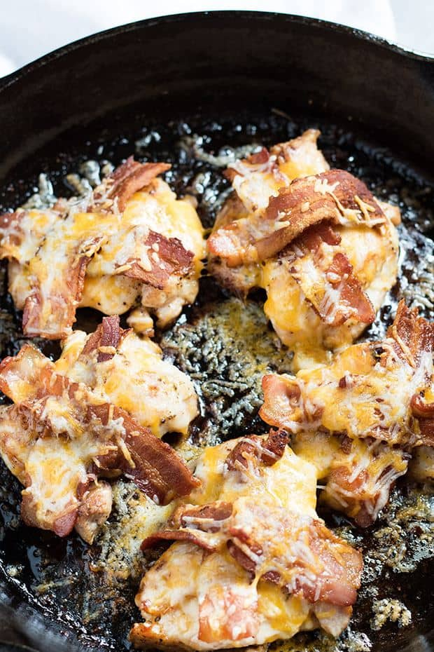 Cheddar Bacon Ranch Chicken--Part of The Best Chicken Bacon Ranch Recipes