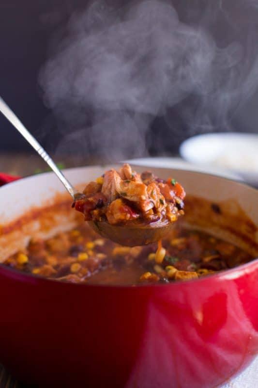 Best Chicken Taco Chili Recipe