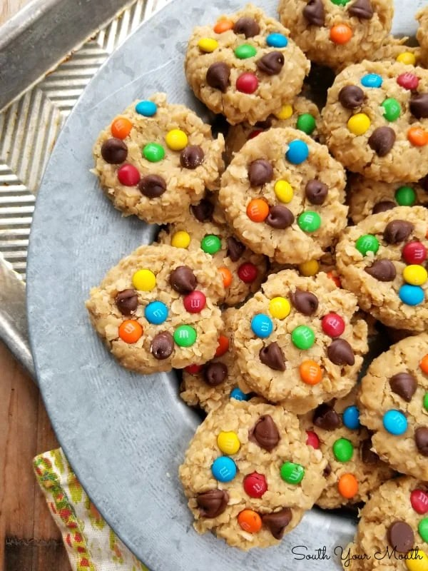 No Bake Monster Cookies