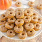 Best Pumpkin Spice Mini Donuts