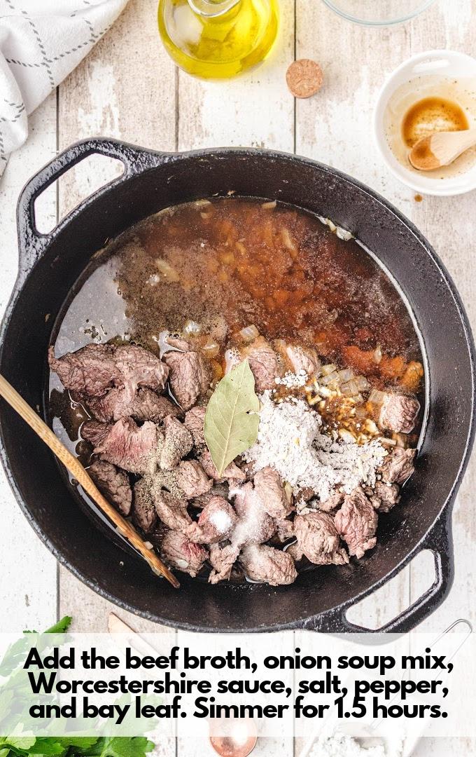 add in ingredients except cornstarch