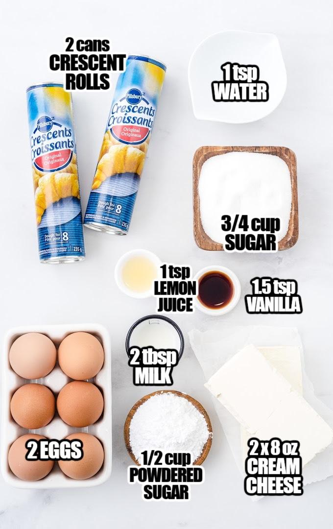 Cheese Danish Ingredients