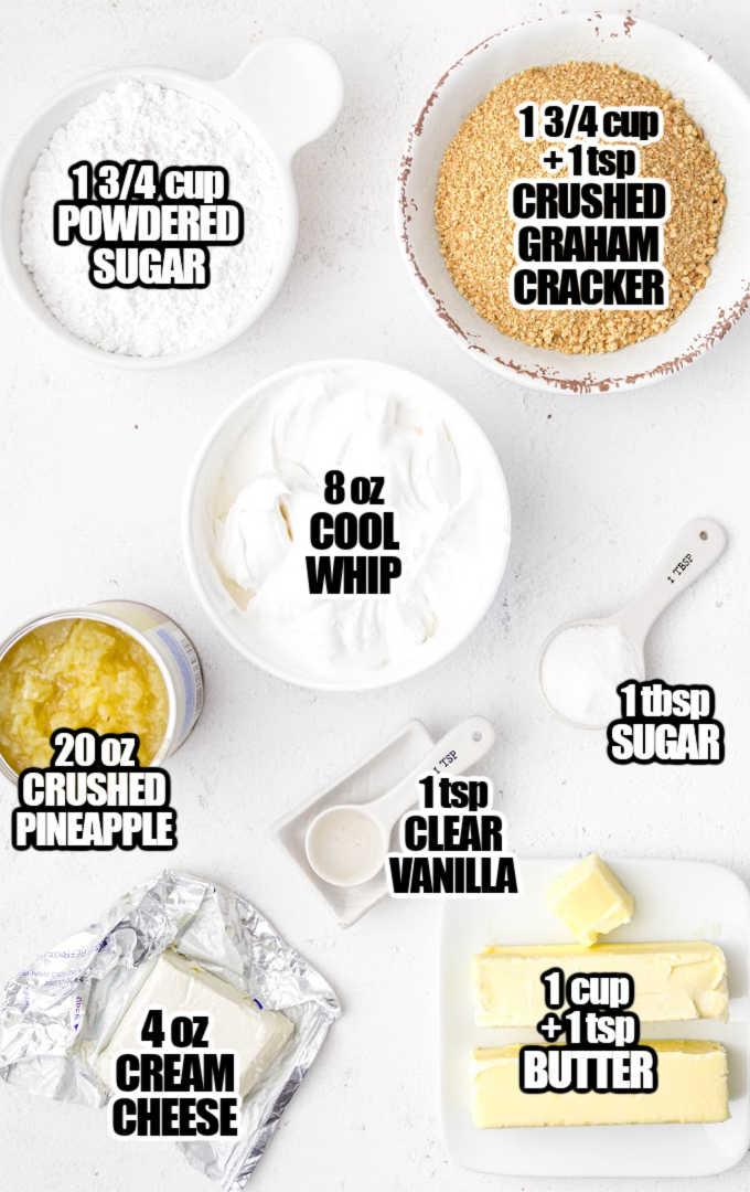 Pineapple Delight Ingredients