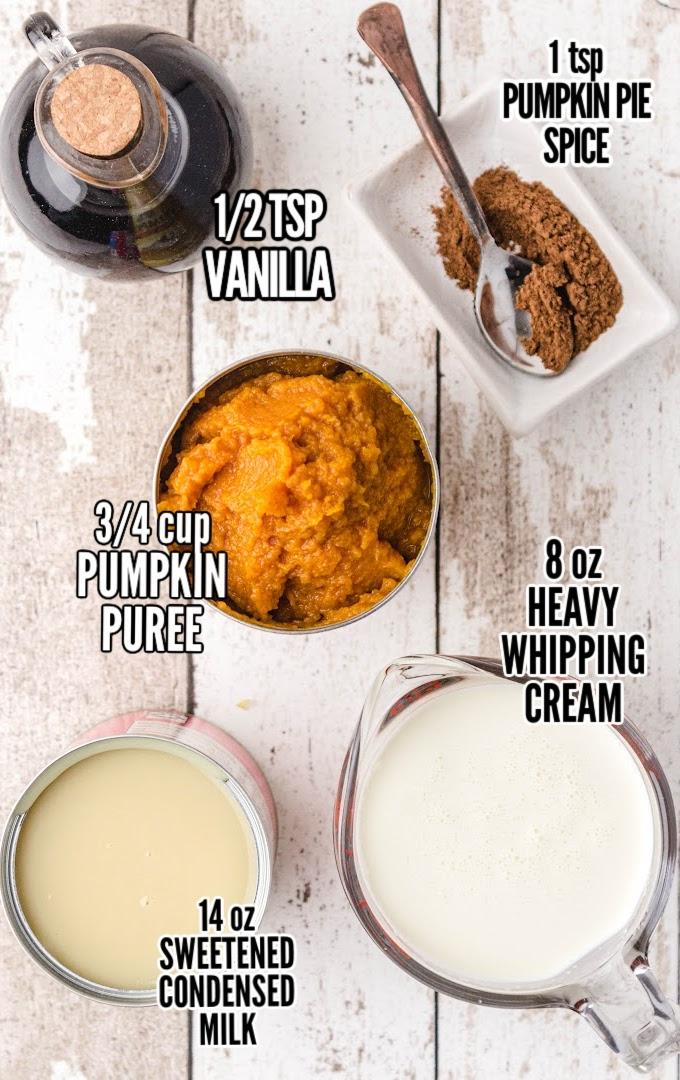 Pumpkin Ice Cream Ingredients