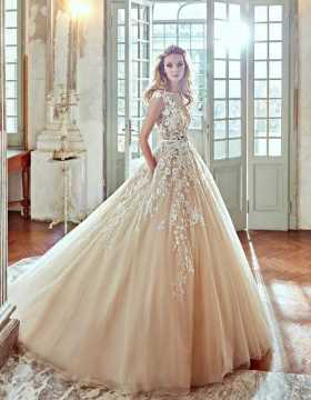 How to Look Stylish in Disney Wedding Dresses    The Best Wedding     Blush Princess Wedding Dress