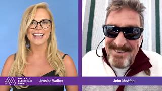 "eD9ew6 - ""2 MILLION BY 2020???"" BITCOIN MATH WITH MCAFEE!"
