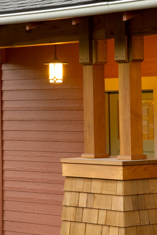 Timber Porch Columns