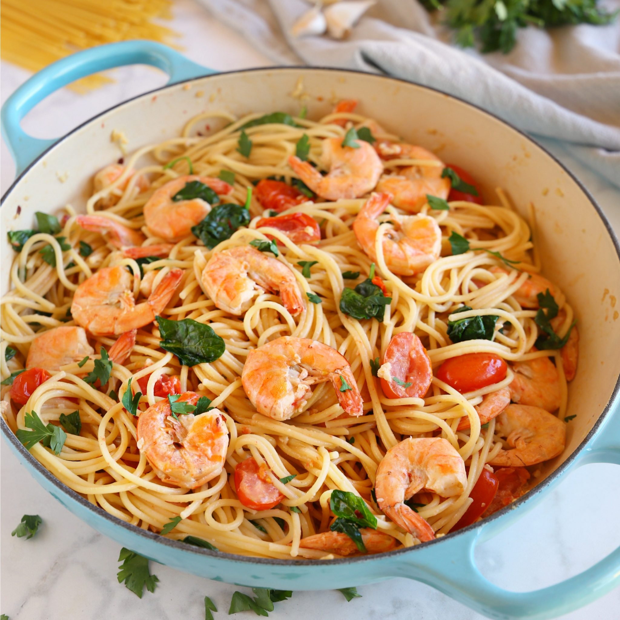 Easy Spaghetti Sauce Shrimp Recipe