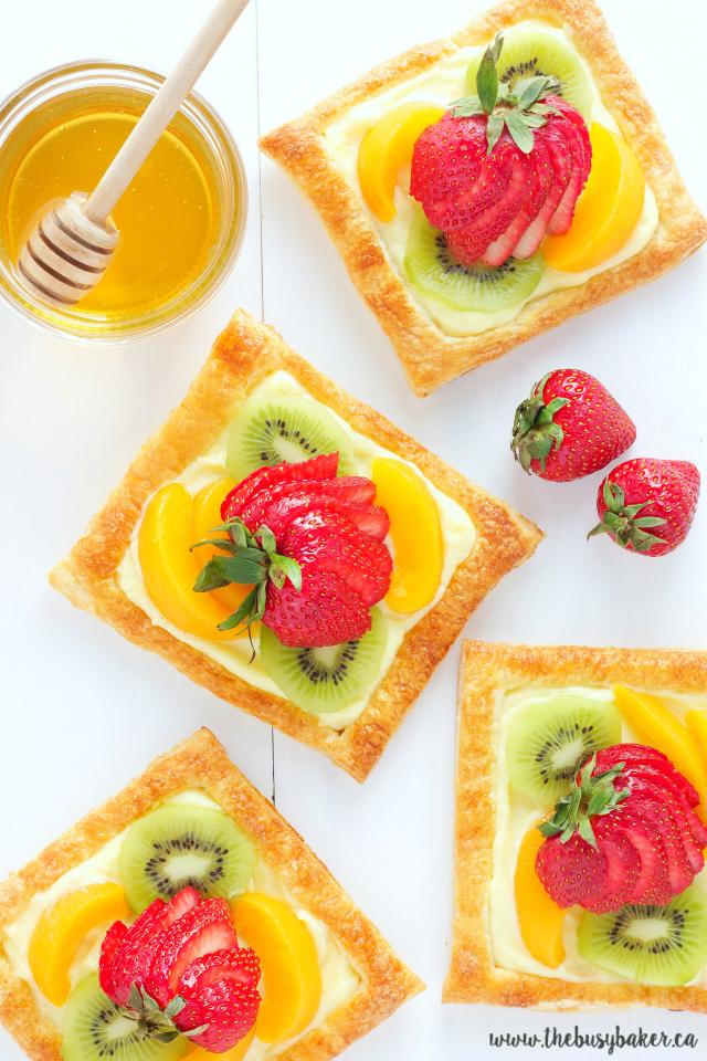 Fruit Recipe Tart Glazed
