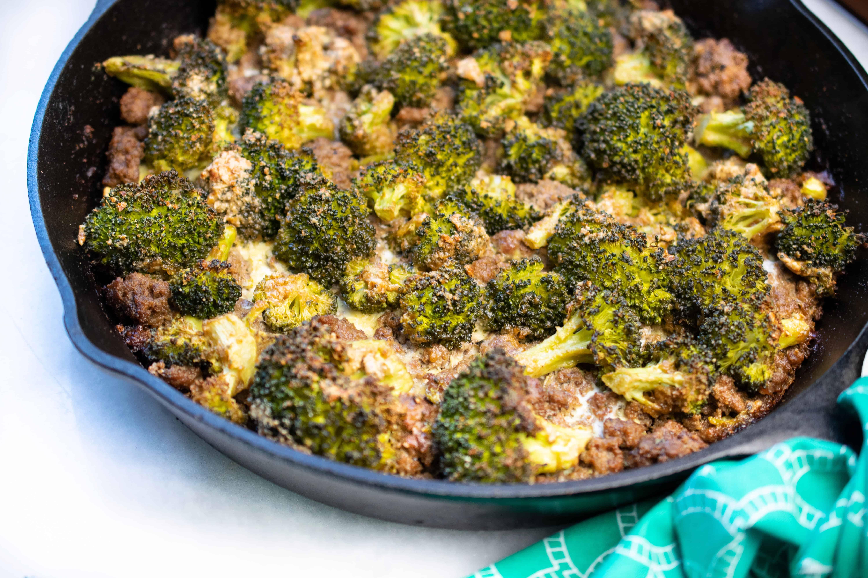 Beef And Broccoli Skillet Casserole Whole30 Paleo Keto