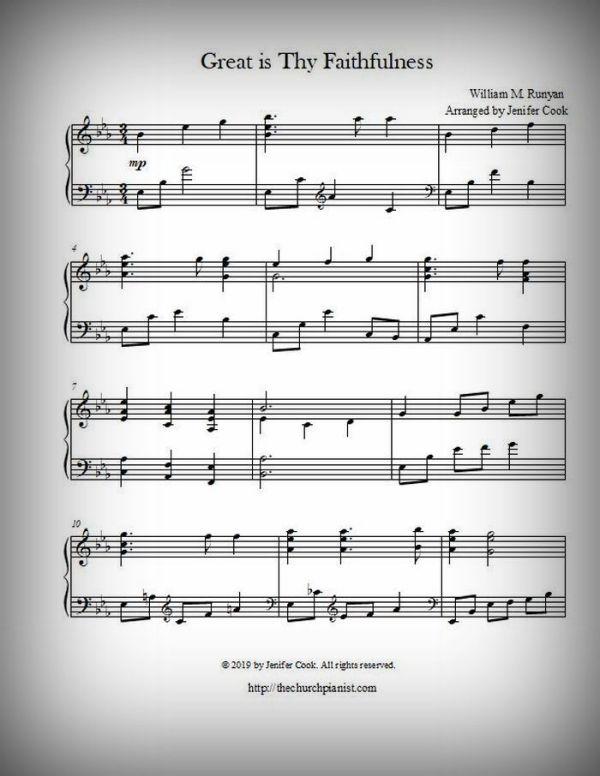 free printable sheet music for piano # 27