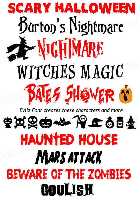 free halloween fonts # 9