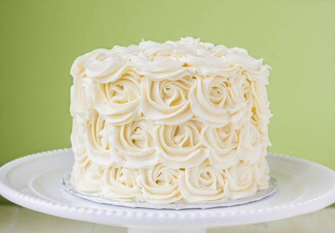 Vanilla Red Velvet Cake Recipe