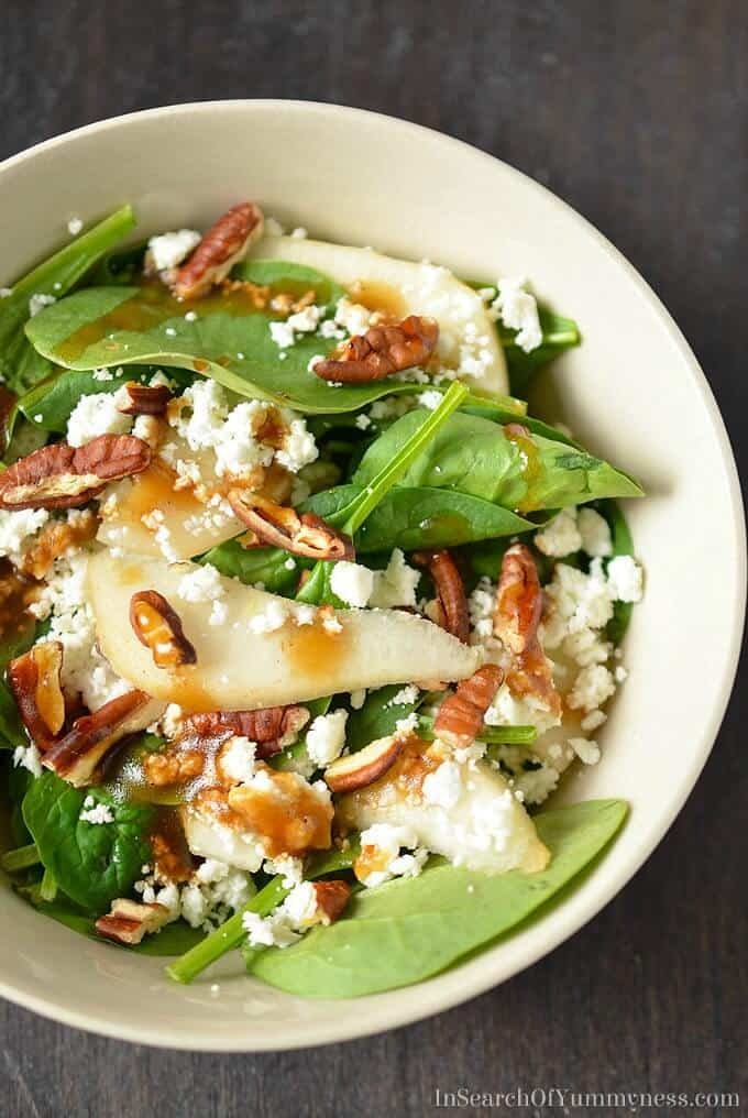 Recipes And Goat Salad Pears Cheese Winter