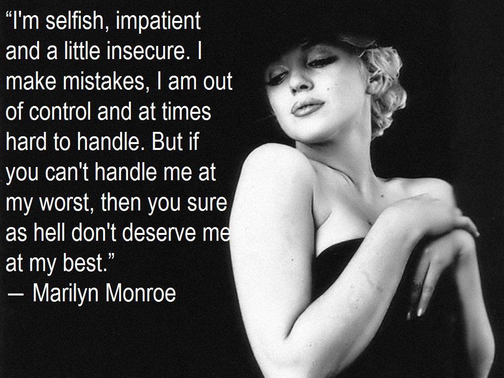 Spontaneous Us: Marilyn Monroe