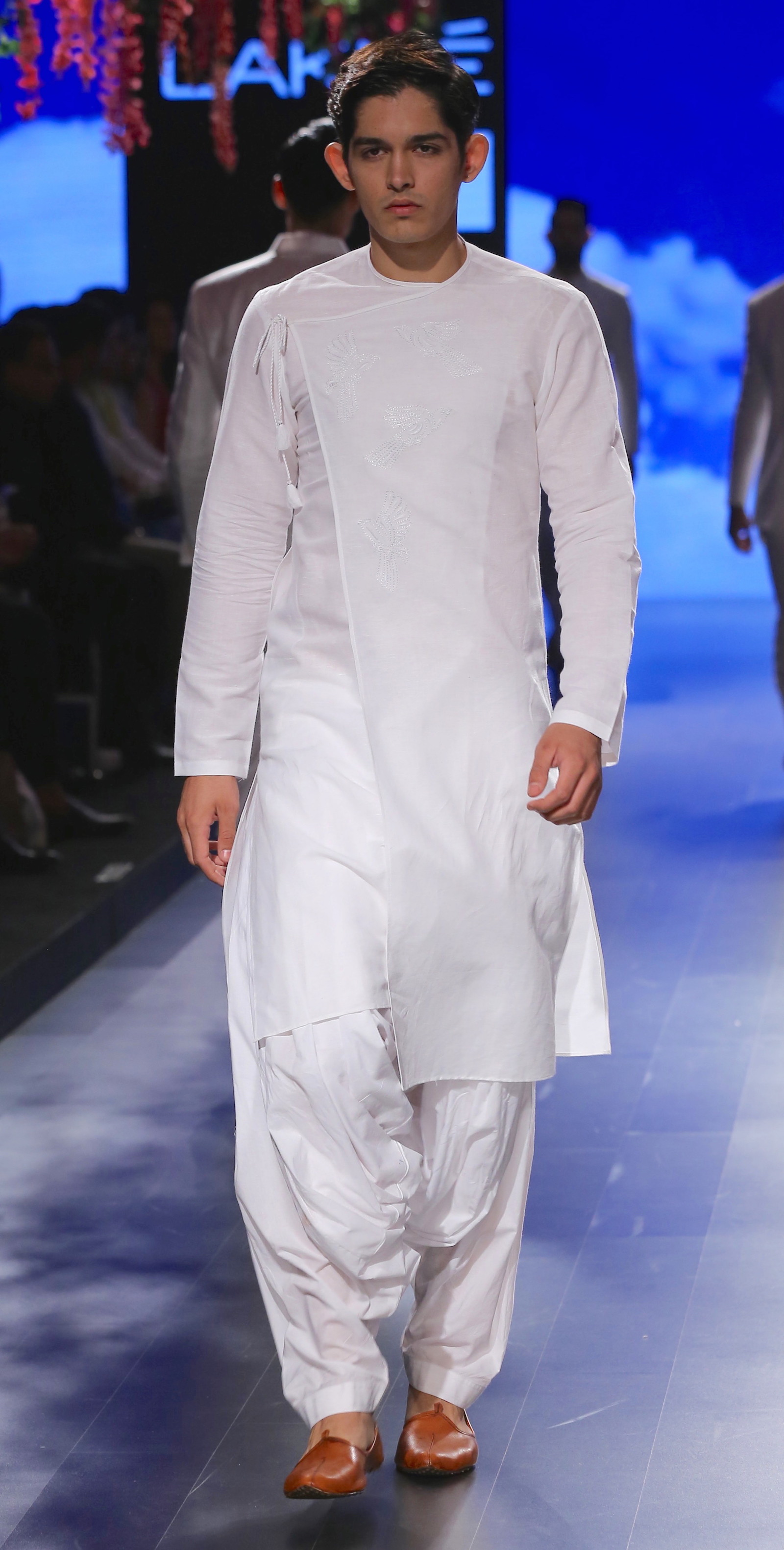 Menswear Achkan Style Kurta With Salwar Anita Dongre