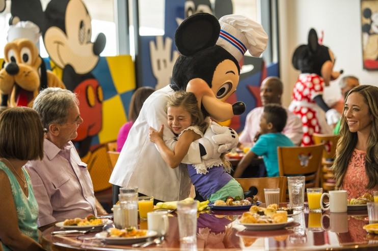 Disney Mickeys Chef Menu World