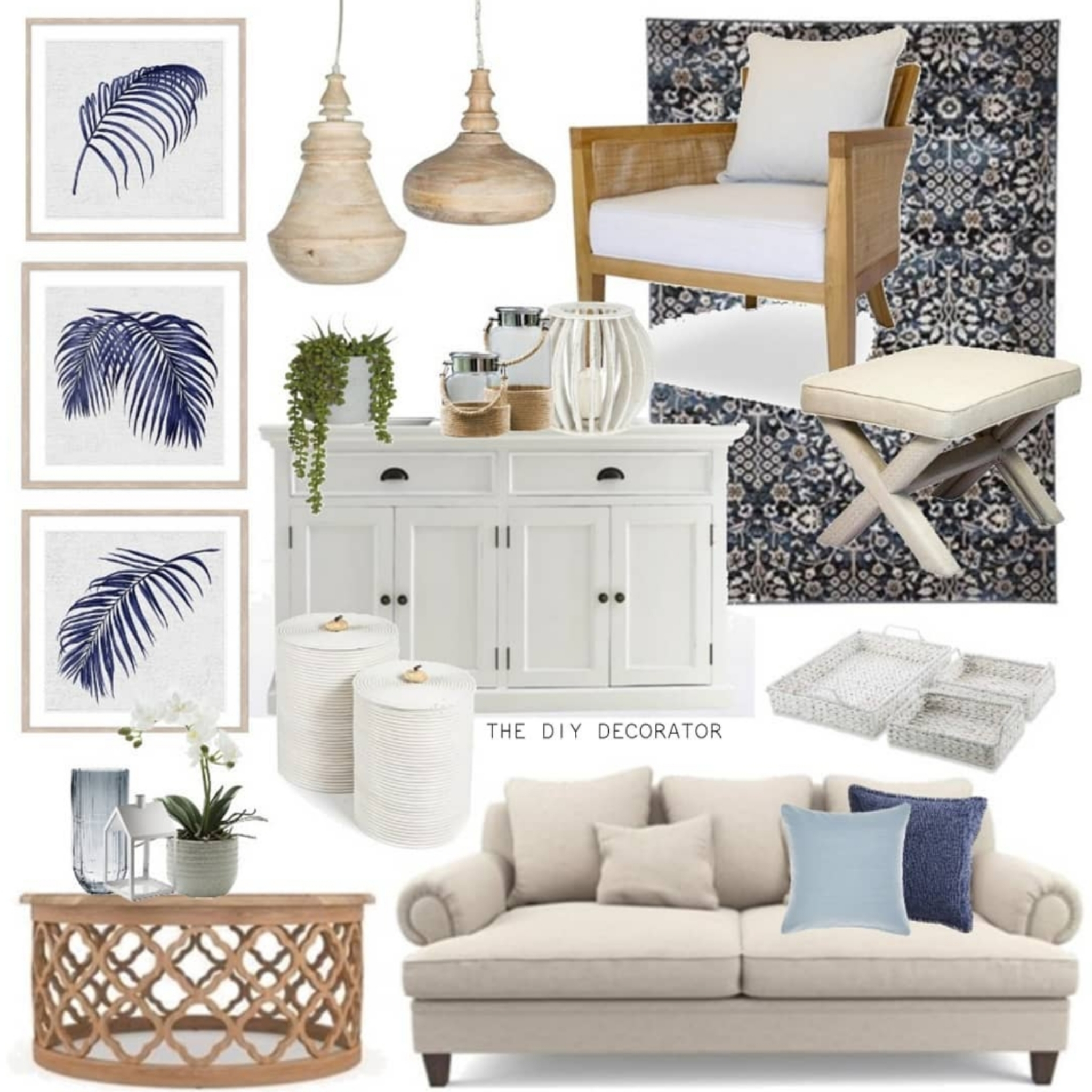 Hamptons Home Styling With I Wanna Go Home The Diy Decorator
